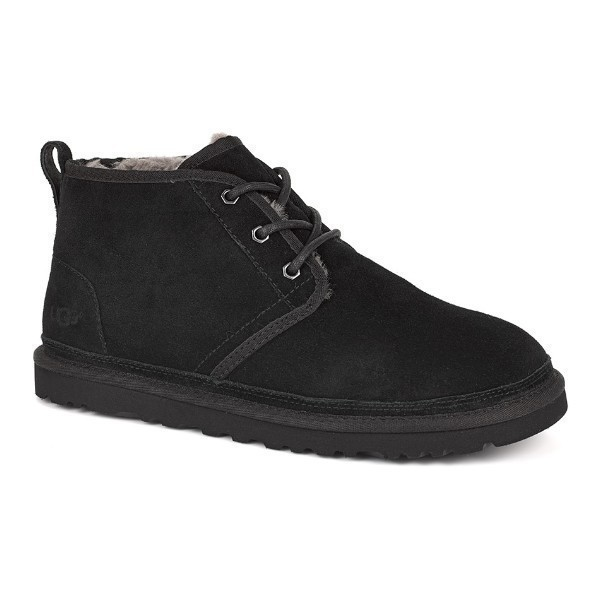 MEN'S NEUMEL BLACK SUEDE LACE BOOT Thumbnail