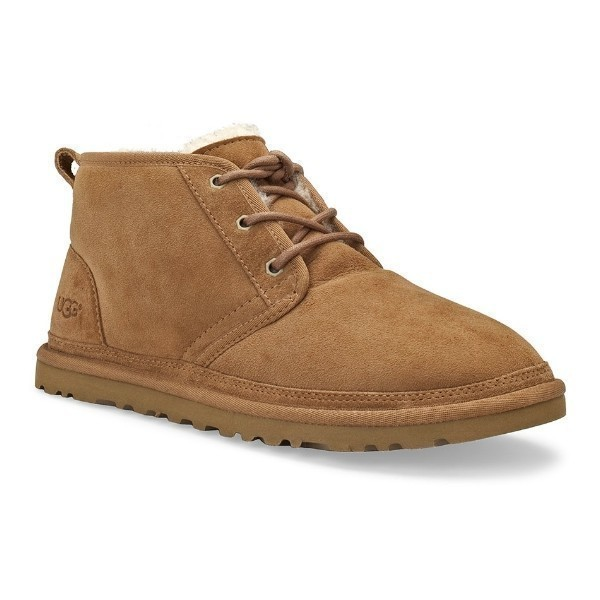 MEN'S NEUMEL CHESTNUT SUEDE LACE BOOT Thumbnail