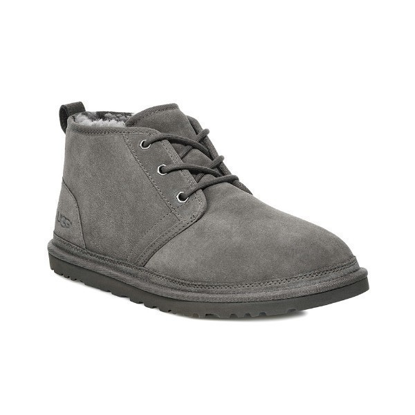 MEN'S NEUMEL CHARCOAL SUEDE LACE BOOT Thumbnail
