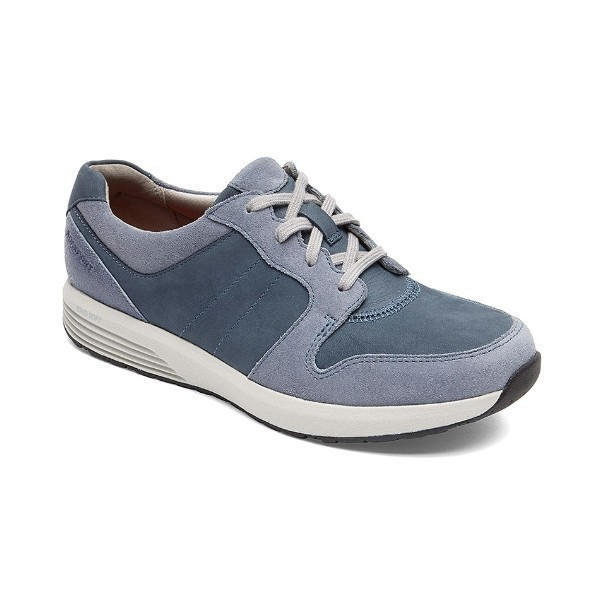 WOMEN'S DERBY TRAINER BLUE MULTI LACE CASUAL Thumbnail
