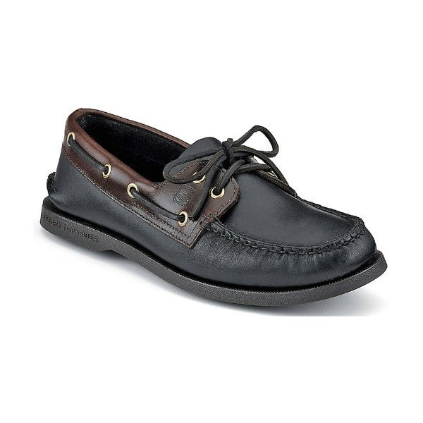 MEN'S AUTHENTIC ORIGINAL BLK/AMARET BOAT SHOE Thumbnail