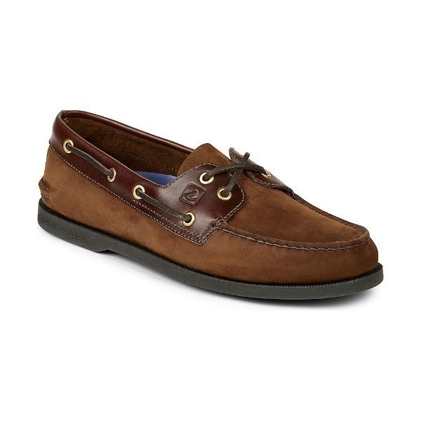 MEN'S AUTHENTIC ORIGINAL BROWN BUC BOAT SHOE Thumbnail
