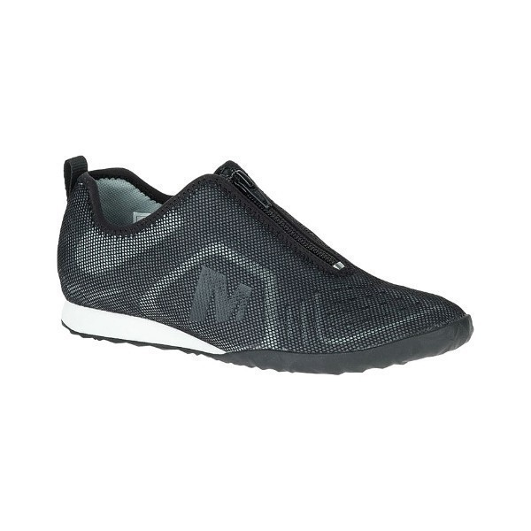 WOMEN'S CIVET ZIP BLACK MESH CASUAL Thumbnail