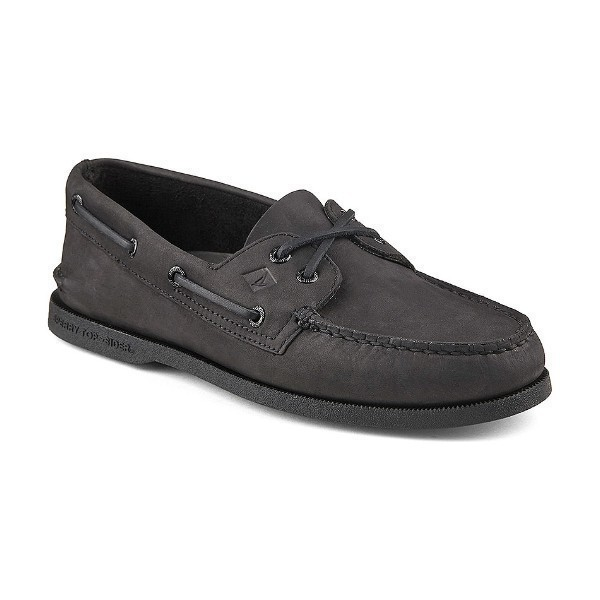 MEN'S AUTHENTIC ORIGINAL BLACK BOAT SHOE Thumbnail