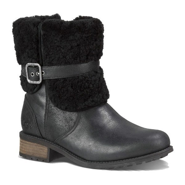WOMEN'S BLAYRE II BLACK LEATHER BOOT Thumbnail