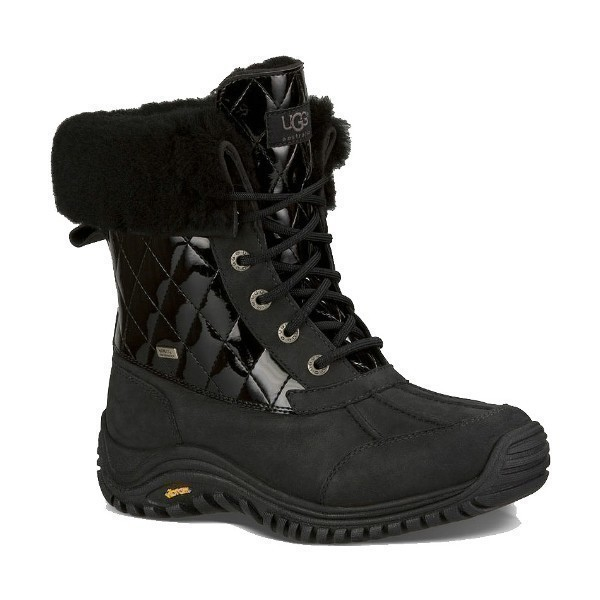 WOMEN'S ADIRONDACK II QUILTED PATENT BOOT Thumbnail