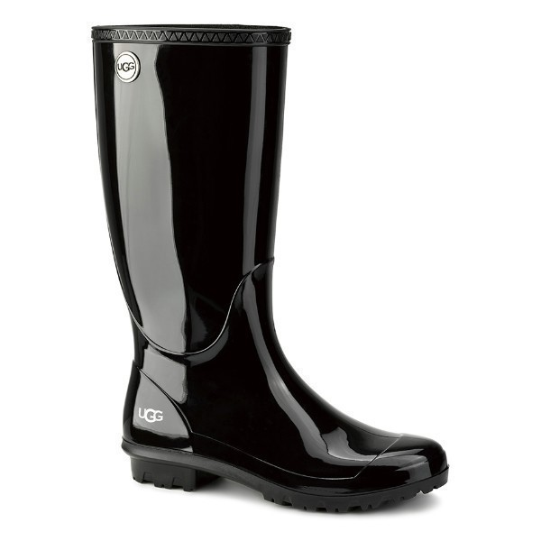 WOMEN'S SHAYE BLACK RUBBER RAIN BOOT Thumbnail