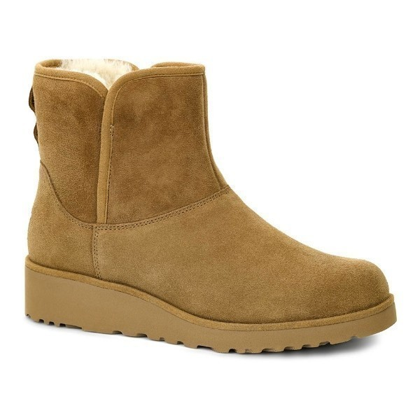 WOMEN'S KRISTIN CHESTNUT SUEDE BOOT Thumbnail