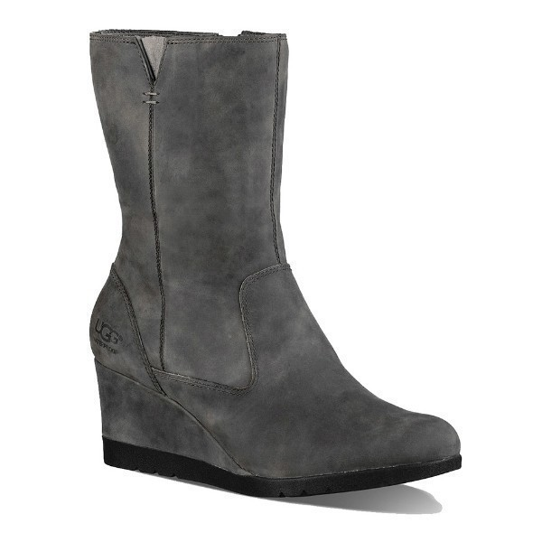 WOMEN'S JOELY CHARCOAL WEDGE BOOT Thumbnail