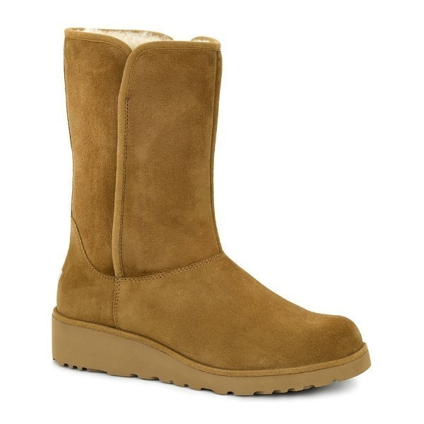 WOMEN'S AMIE CHESTNUT SUEDE BOOT Thumbnail