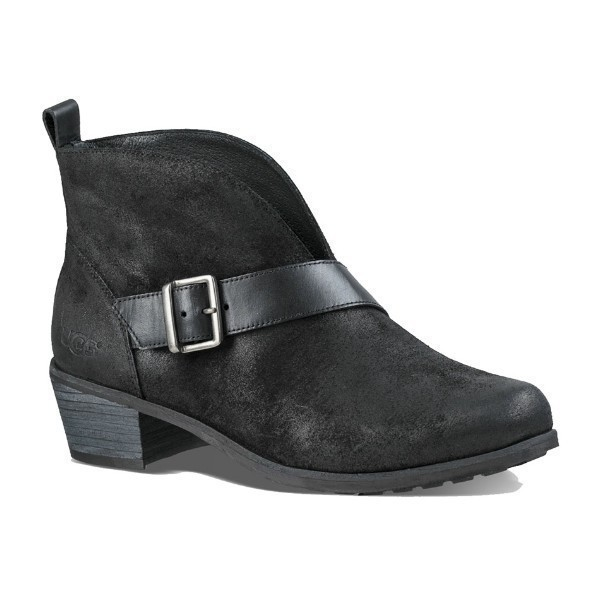 WOMEN'S WRIGHT BELTED BLACK DRESS BOOT Thumbnail