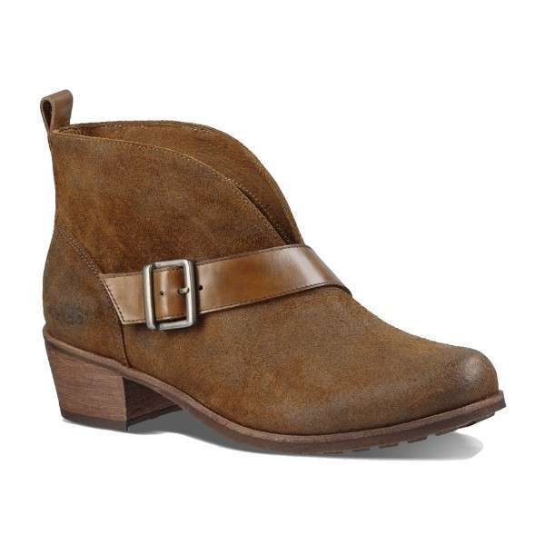 WOMEN'S WRIGHT BELTED CHESTNUT DRESS BOOT Thumbnail