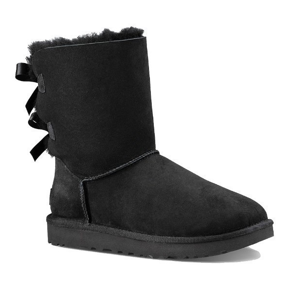 WOMEN'S BAILEY BOW II BLACK BOOT Thumbnail