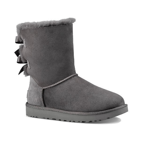 WOMEN'S BAILEY BOW II GREY BOOT Thumbnail