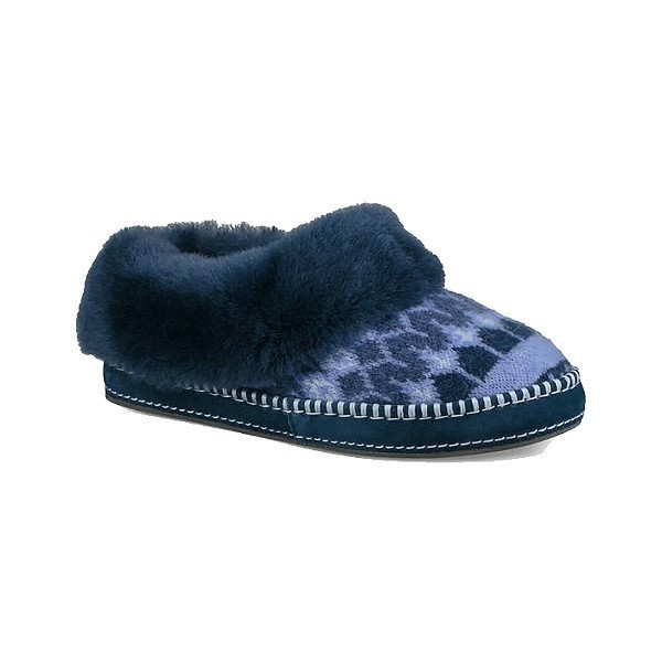 WOMEN'S WRIN ICELANDIC NAVY SLIPPER Thumbnail