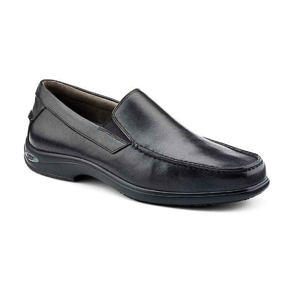 MEN'S GOLD CUP BOOTHBAY BLACK LEATHER SLIP-ON Thumbnail