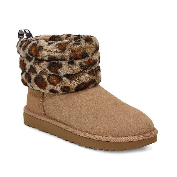 WOMEN'S FLUFF MINI QUILTED LEOPARD AMPHORA Thumbnail