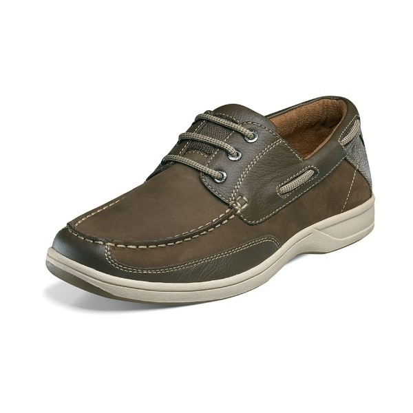 MEN'S LAKESIDE OX BROWN NUBUCK LACE CASUAL Thumbnail