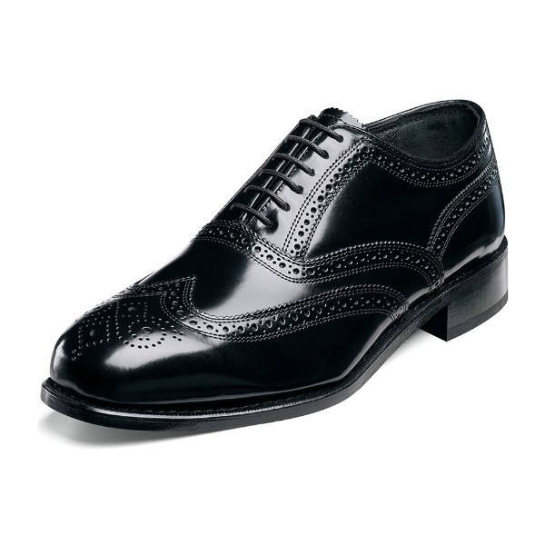 MEN'S LEXINGTON BLACK WING TIP OXFORD Thumbnail