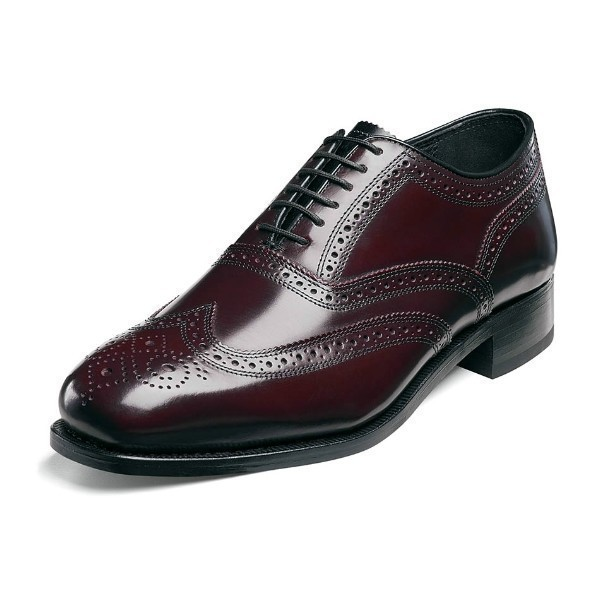 MEN'S LEXINGTON BURGUNDY WING TIP OXFORD Thumbnail