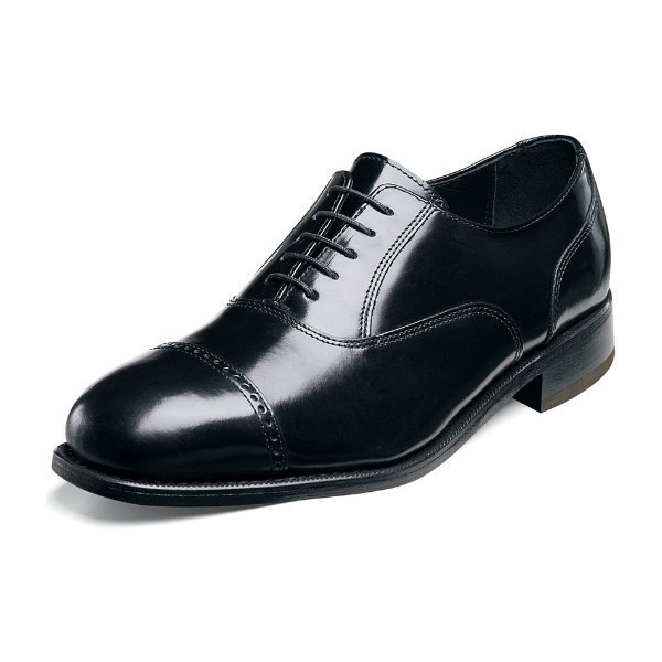 MEN'S LEXINGTON BLACK CAP TOE OXFORD Thumbnail