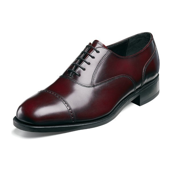 MEN'S LEXINGTON BURGUNDY CAP TOE OXFORD Thumbnail