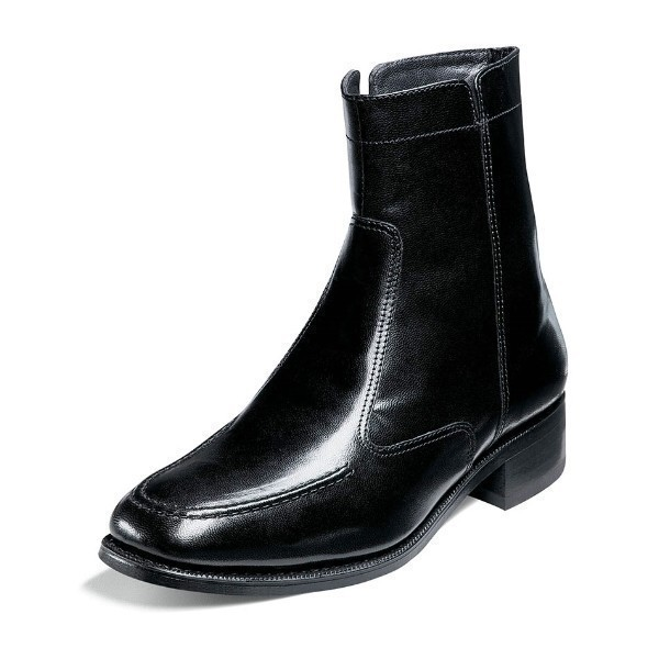 MEN'S ESSEX BLACK LEATHER DRESS BOOT Thumbnail