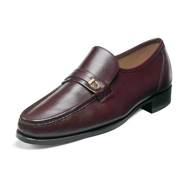 MEN'S IMPERIAL COMO MAHOGANY MOC TOE SLIP-ON Thumbnail