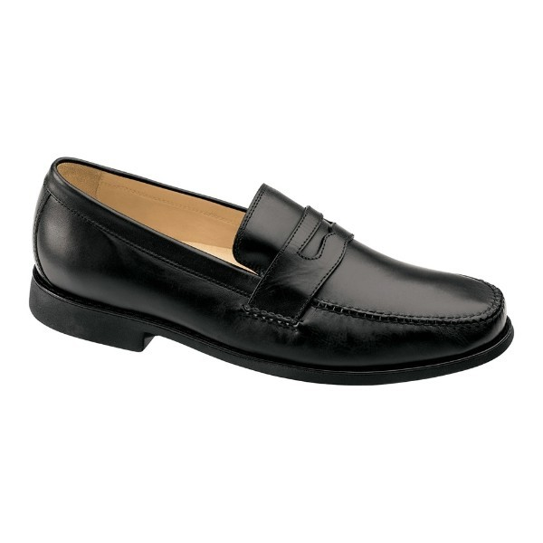 MEN'S AINSWORTH PENNY BLACK DRESS LOAFER Thumbnail