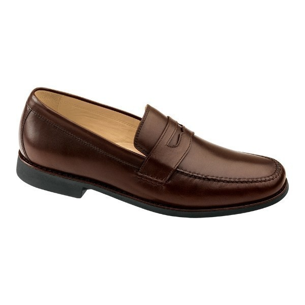 MEN'S AINSWORTH PENNY ANTIQUE MAHOGANY LOAFER Thumbnail