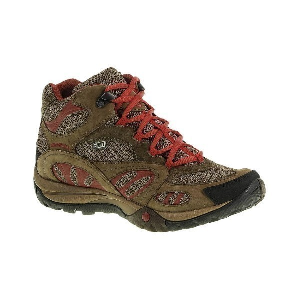 WOMEN'S AZURA MID WATERPROOF EARTH/RED Thumbnail