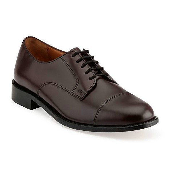 MEN'S ANDOVER BURGUNDY LEA CAP-TOE DRESS SHOE Thumbnail