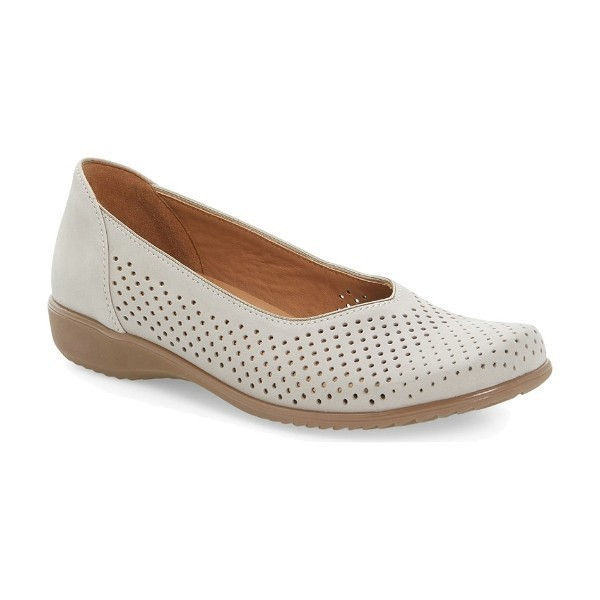 WOMEN'S AVRIL WHITE LEATHER CASUAL SLIP-ON Thumbnail