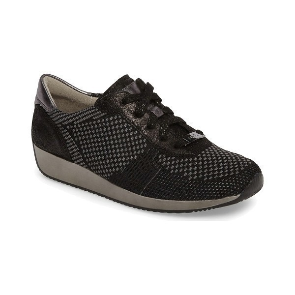 WOMEN'S LILLY BLACK CASUAL SNEAKER Thumbnail