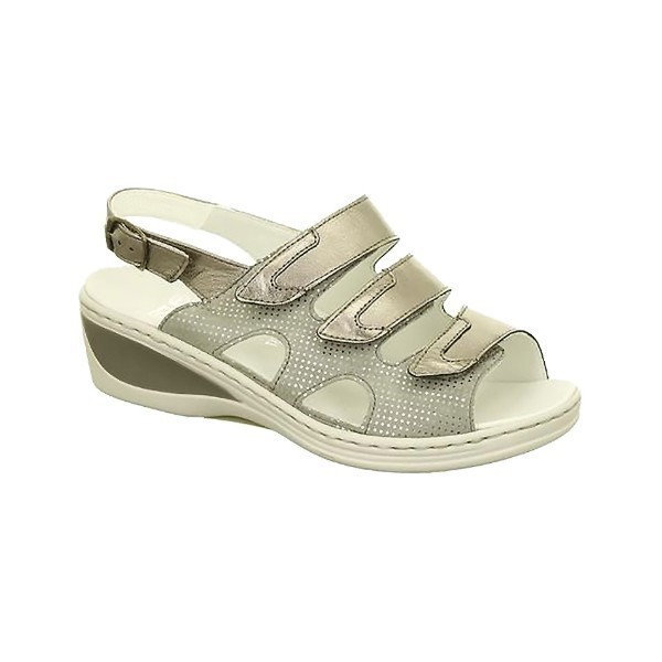 WOMEN'S COLLETTE SAND COMBO ADJUSTABLE SANDAL Thumbnail
