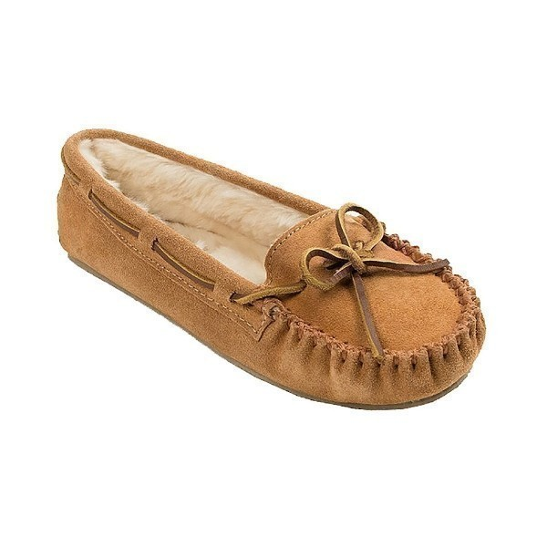 WOMEN'S CALLY CINNAMON SUEDE SLIPPER Thumbnail
