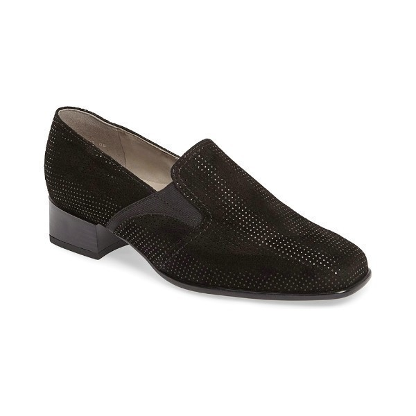 WOMEN'S GRACE BLACK PUNTIKID SLIP-ON Thumbnail