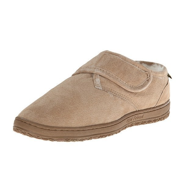 MEN'S ADJUSTABLE BOOTEE EXTRA WIDE SLIPPER Thumbnail