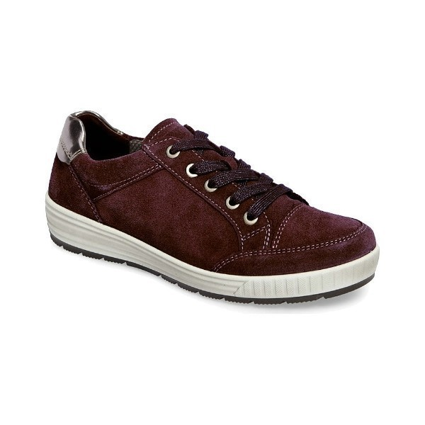 WOMEN'S NICOLE BRUNELLO SUEDE CASUAL SNEAKER Thumbnail