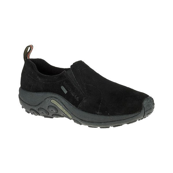 MEN'S JUNGLE MOC WATERPROOF BLACK CASUAL Thumbnail