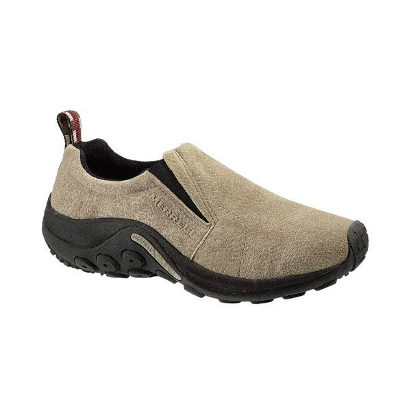 MEN'S JUNGLE MOC TAUPE SUEDE Thumbnail
