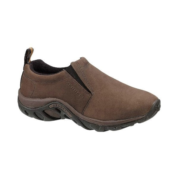 MEN'S JUNGLE MOC BROWN NUBUCK Thumbnail