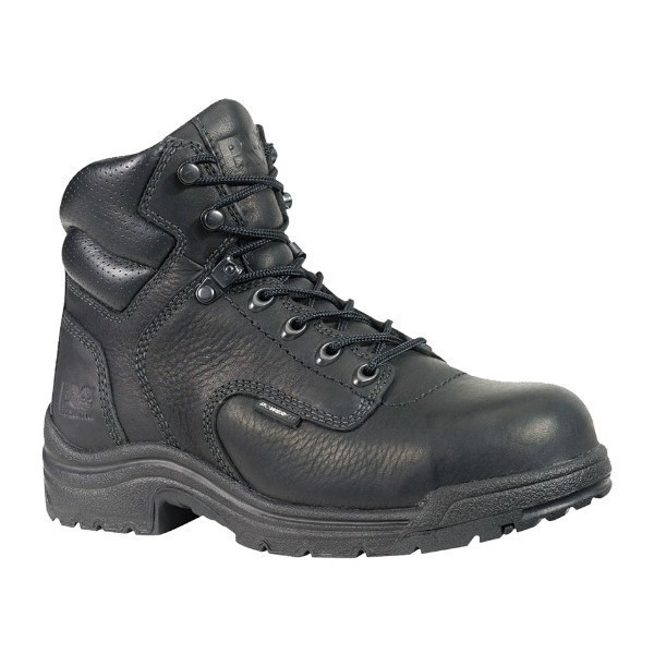 WOMEN'S TiTAN® BLACK ALLOY TOE WORK BOOT Thumbnail