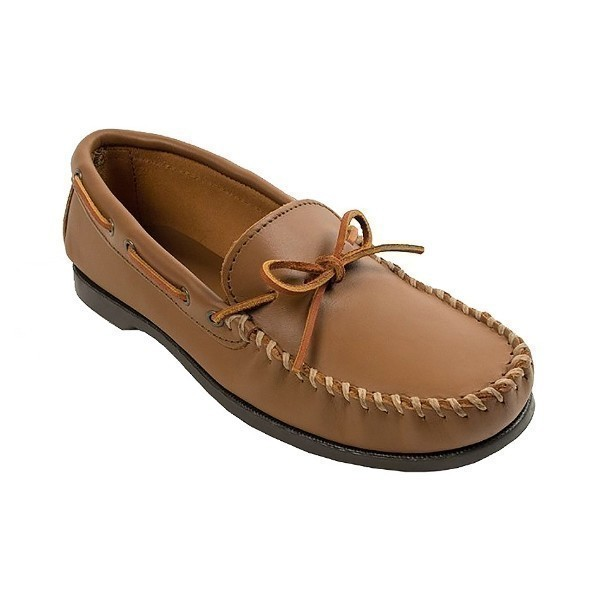 MEN'S CAMP MOC MAPLE LEATHER MOCCASIN Thumbnail