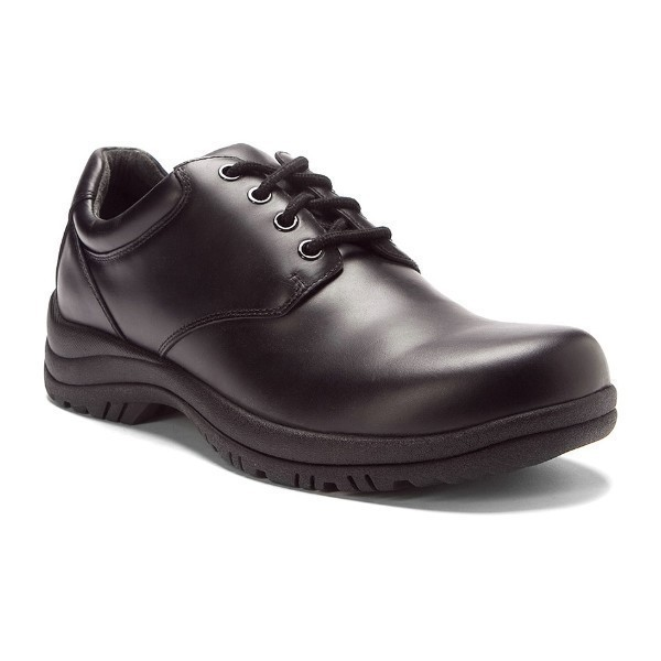 MEN'S WALKER SLIP-RESISTANT BLACK WORK SHOE Thumbnail