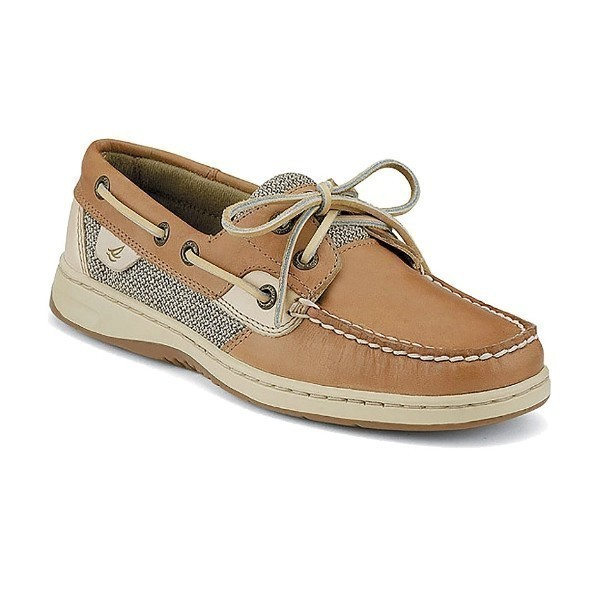 WOMEN'S BLUEFISH 2-EYE LINEN BOAT SHOE Thumbnail