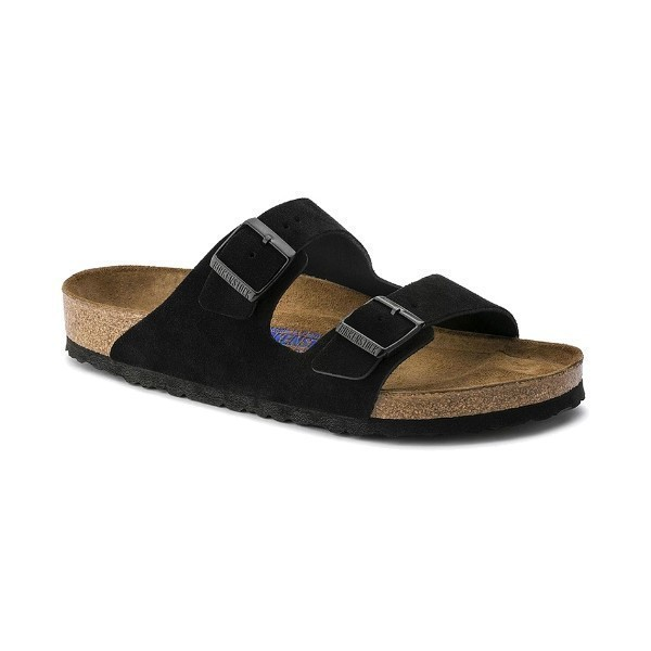 WOMEN'S ARIZONA SOFT FOOTBED BLACK SUEDE Thumbnail