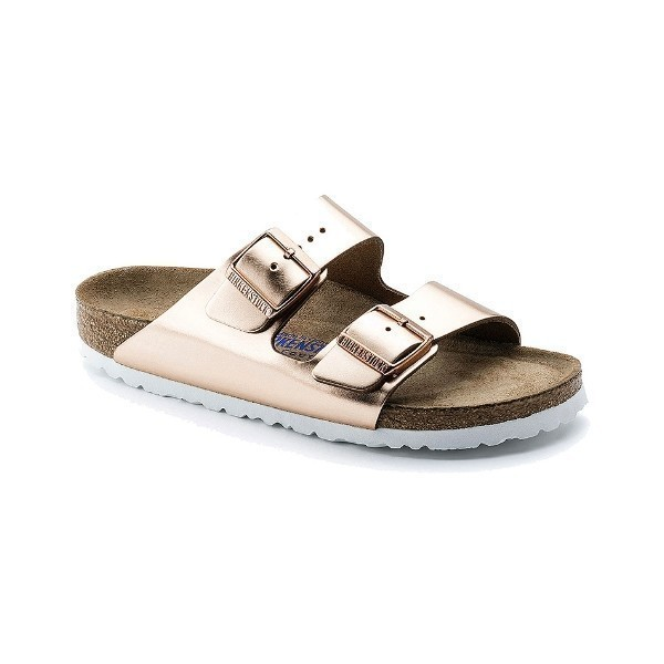 WOMEN'S ARIZONA SOFT FOOTBED METALLIC COPPER Thumbnail