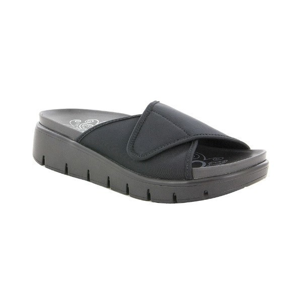 WOMEN'S AIRIE GO TO BLACK SLIDE SANDAL Thumbnail