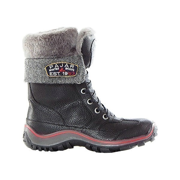 WOMEN'S ALICE BLACK LACE WINTER BOOT Thumbnail